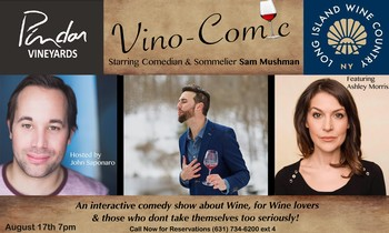 Vino-Comic Comedy Night
