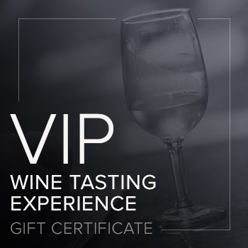 VIP Tasting Experience Gift Certificate